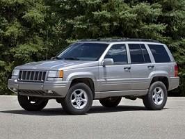 Masser af dele til Jeep ZJ fra 1998 + lidt fra 1996